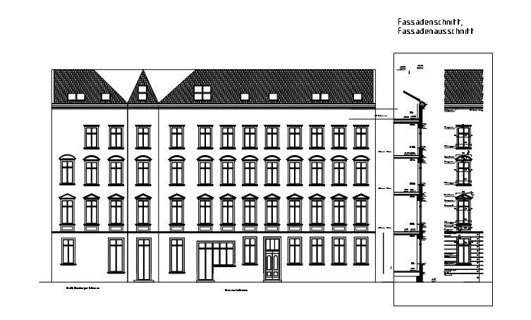 Krausnickstraße Berlin Fassade